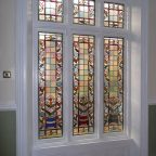 Stained Glass Window Restoration Encapsulation - Liverpool