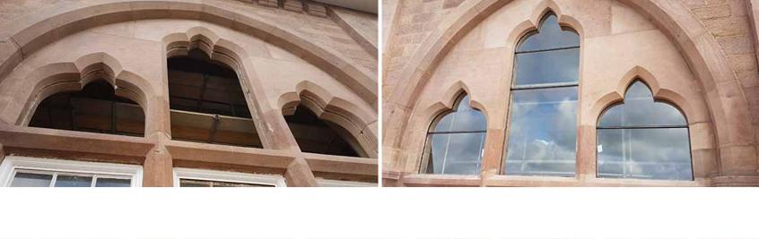 Stonework Glazing